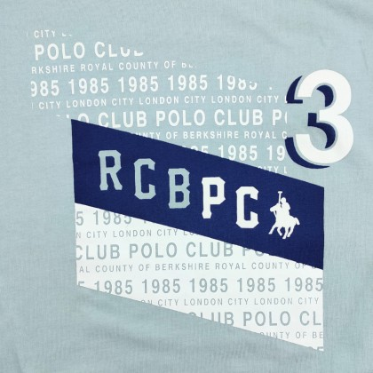 RCB POLO CLUB MEN ROUND NECK TEE RMRN11171-BB 0B2