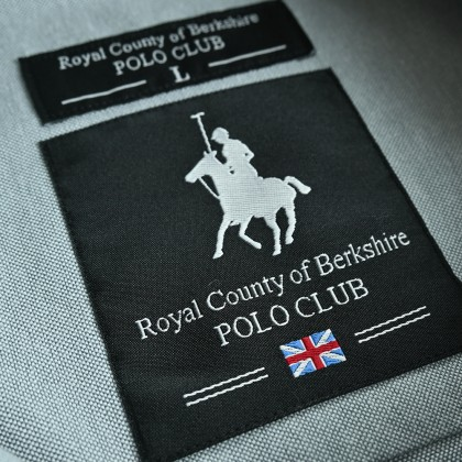 RCB POLO CLUB MEN SHORT SLEEVE PLAIN GREY RMSSA10066 OF3