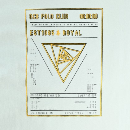 RCB POLO CLUB BOYSROUND NECK TEE RBRN11148-BB OF2