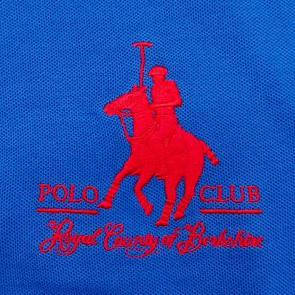 RCB POLO CLUB MEN POLO TEE SOLID RMTS10231-BB 0B11