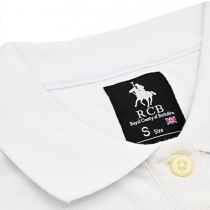 RCB POLO CLUB LADIES TEE SOLID-WHITE NUMBER 3 RFTS10682 0P1