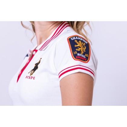 RCB POLO CLUB LADIES TEE DESIGN WHITE RFTS10703 00P