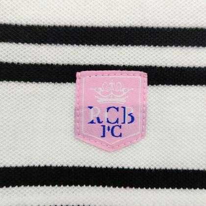 RCB POLO CLUB LADIES TEE DESIGN WHITE STRIPE RFTS60490 00P