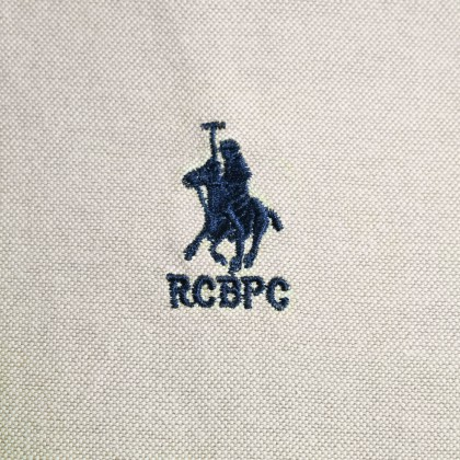 RCB POLO CLUB MEN LONG SLEEVE PLAIN KHAKI RMLSA10065 OD2