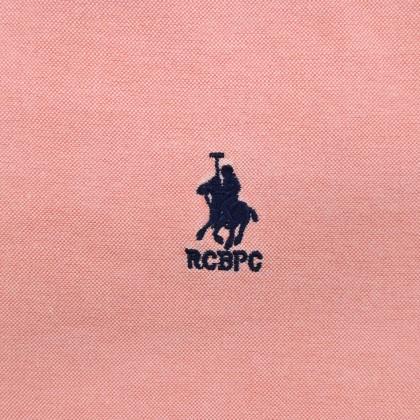 RCB POLO CLUB MEN LONG SLEEVE PLAIN CHAMPANGE ORANGE RMLSA10065 OH9