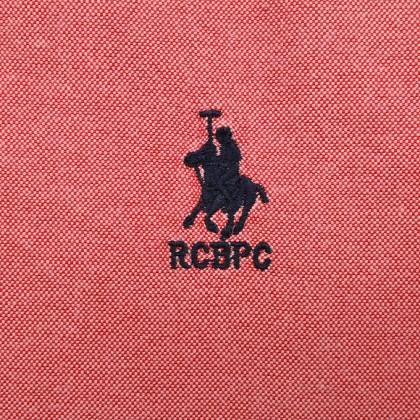 RCB POLO CLUB MEN LONG SLEEVE PLAIN RED RMLSA10065 OOH