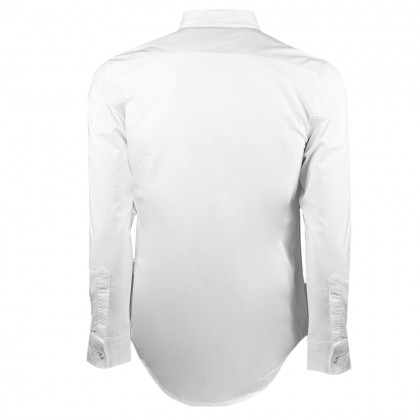 RCB POLO CLUB MEN LONG SLEEVE WHITE RMLSM10010 OOC