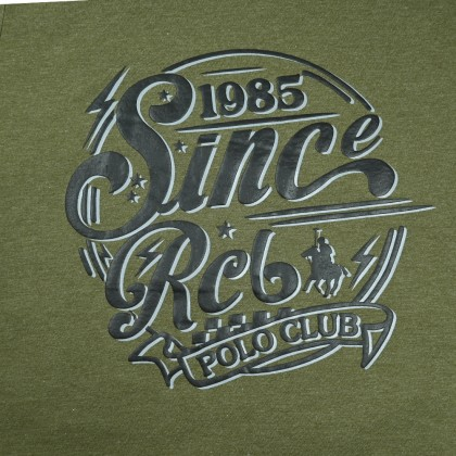 RCB POLO CLUB MEN ROUND NECK TEE RMRN11180-BB OG32