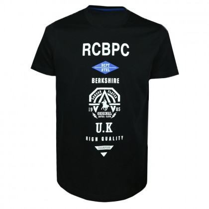 RCB POLO CLUB MEN ROUND NECK TEE RMRN11220-BB OOQ