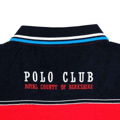 RCB POLO CLUB LADIES TEE DESIGN RED RFTS60609 OOH