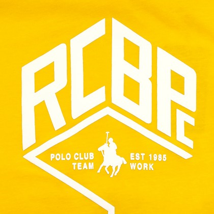RCB POLO CLUB MEN ROUND NECK TEE RMRN11228-BB OY14