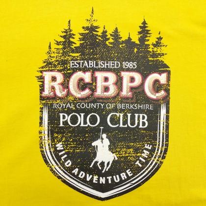 RCB POLO CLUB BOYSROUND NECK TEE RBRN11223-BB OY16