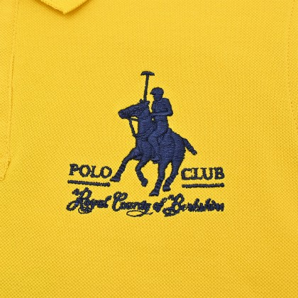 RCB POLO CLUB KIDS POLO TEE SOLID RBTS10336