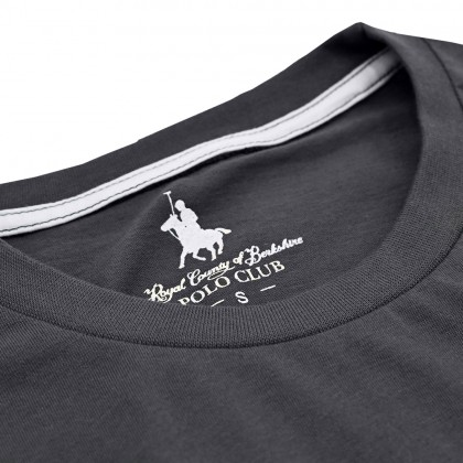 RCB POLO CLUB MEN ROUND NECK TEE RMRN11240-BB OF3