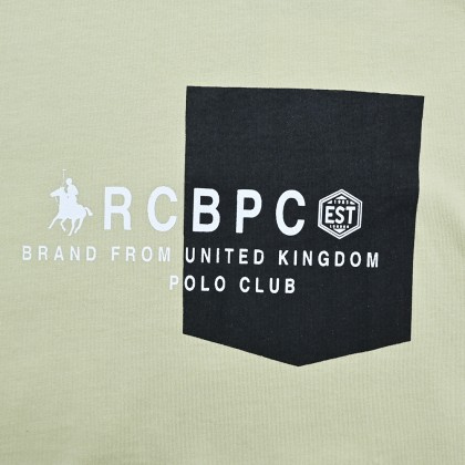 RCB POLO CLUB MEN ROUND NECK TEE RMRN11248-BB OD2