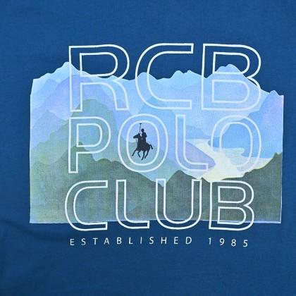 RCB POLO CLUB BOYSROUND NECK TEE RBRN11281-BB OB4