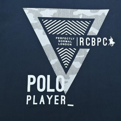 RCB POLO CLUB MEN ROUND NECK TEE RMRN001-SV OOA
