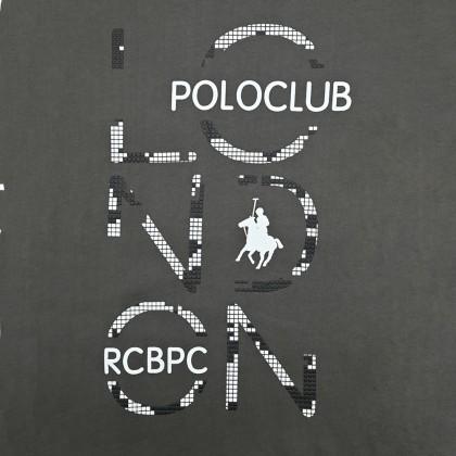 RCB POLO CLUB MEN ROUND NECK TEE RMRN001-SV OOF