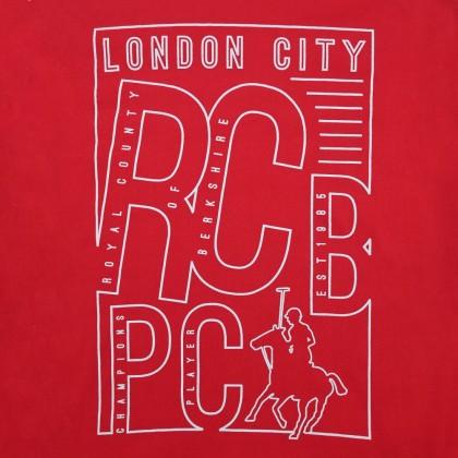 RCB POLO CLUB MEN ROUND NECK TEE RMRN001-SV OOH2