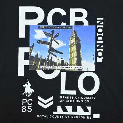 RCB POLO CLUB MEN ROUND NECK TEE RMRN001-SV OOQ
