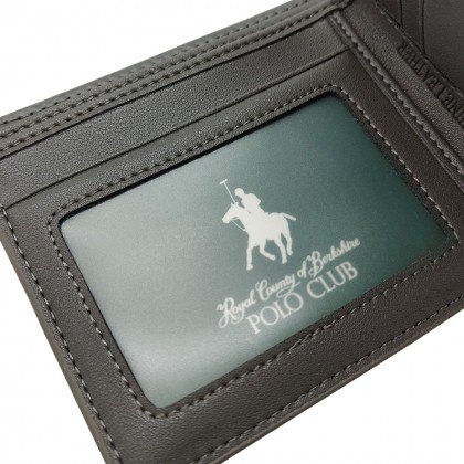 RCB POLO CLUB MEN'S LEATHER WALLETW15322504-70